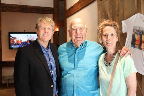 Mike Banker, Bob Bowie, Brooke Bowie O'Hare