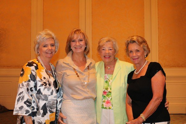 Barbara Foshee, Beate Dellinger, Mary Warther, Judy Rogers