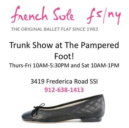 Pampered Foot Trunk Show