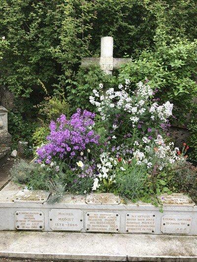 Monet's gravesite