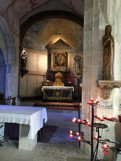 L'Eglise Sainte-Radegonde