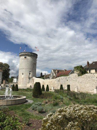 A chateau in Rouen