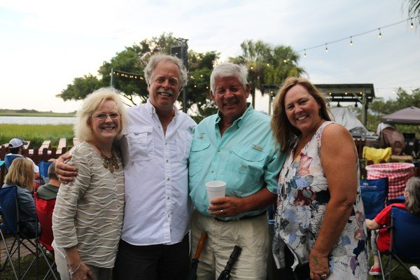 Patty and Jeff Cole, Gerald and Rosie Sellers