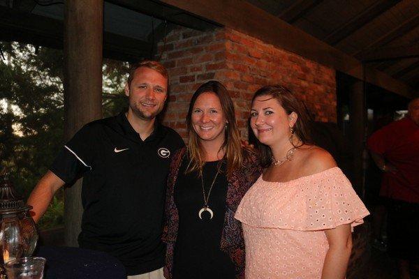 Eric Friedrich, Katie Jarocki, Carrie Lewis