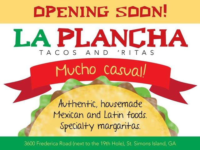 La Plancha Coming Soon