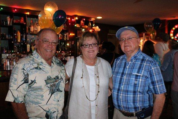 Jack and Susan McShenny, Mel Rozier