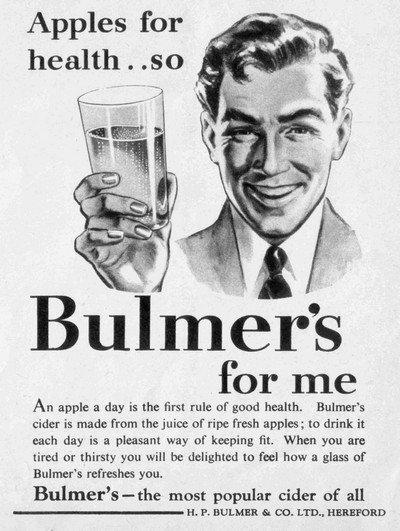 Bulmers Vintage Cider Ad