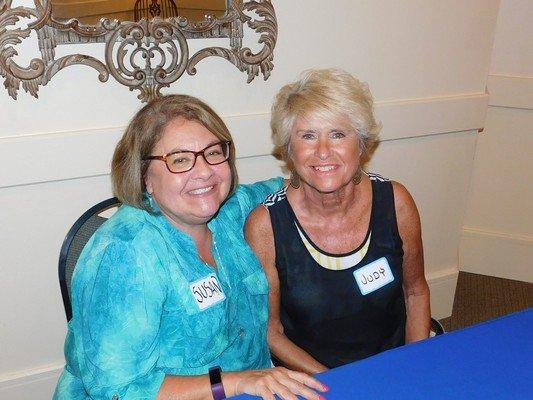 Susan Ricci, Judy Burch