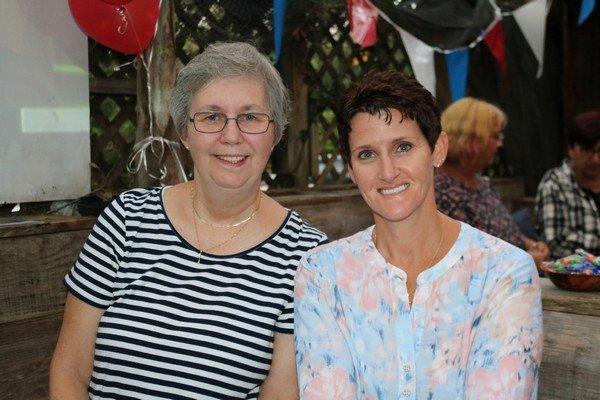 Sandy Schubert, Betty Haynn