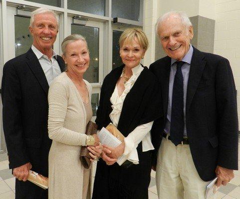 Bud Hearn, Joanne Sims, Carolyn Hearn, King Sims
