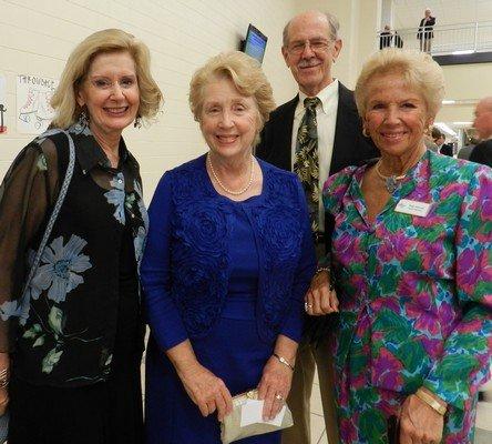 Carol Norton, Barbara Smith, Jim and Kay Harrell