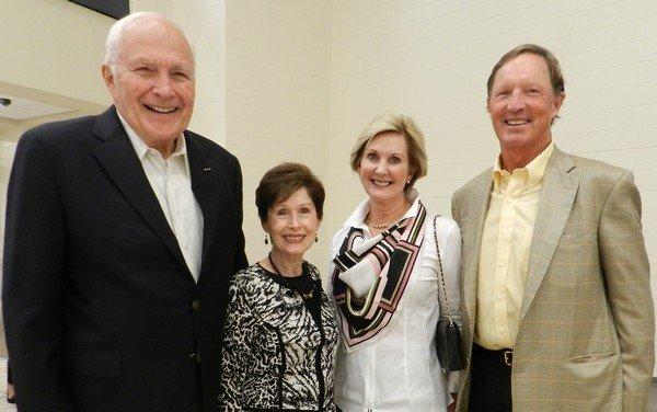 John and Jan Campbell, Deborah and Peter Murphy