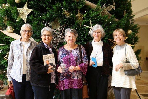 Jimmie Ann Abner, Mary Kathryn Boyd, Mimi Waite, Janice Browning, Lois Vogelmann