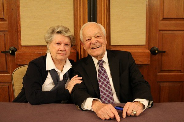 Patricia and Bob Schieffer
