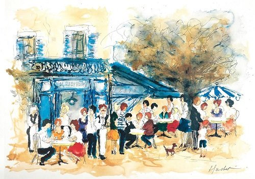 Cafe Rive Gauche